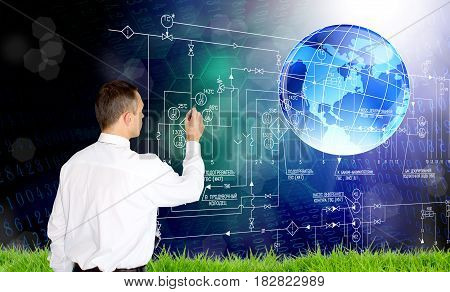 Engineering industrial technology.Designing energy technology. Power industry