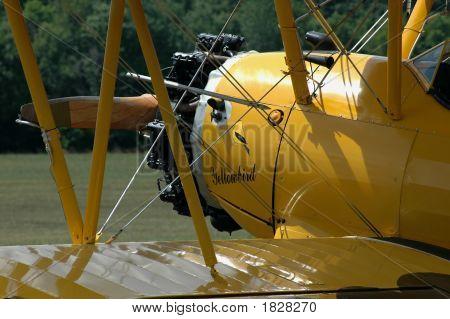 Vintage World War I Army Airforce Biplane