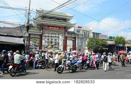 Street In Saigon (ho Chi Minh City), Vietnam
