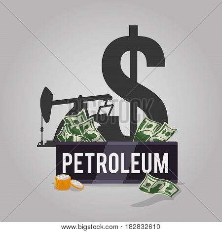 Oil and petroleum industry icon vector illustration graphic design