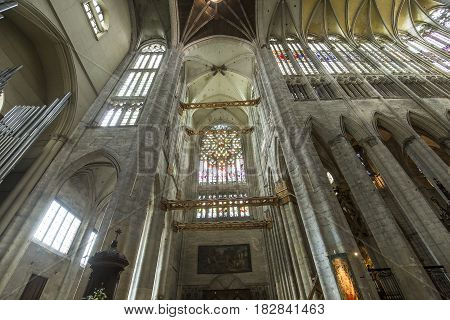 Saint Peter Beauvais Cathedral, In Beauvais, France
