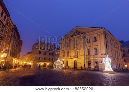 Crown Tribunal Building in Lublin. Lublin Lubelskie Poland.