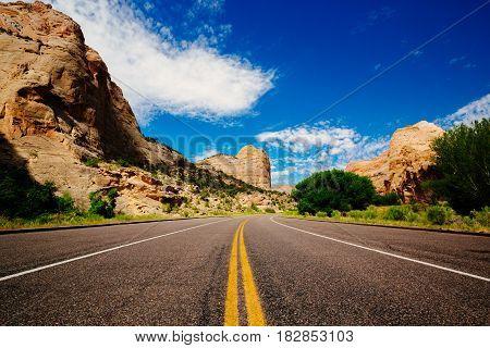 Capital Reef National Park, Utah, Usa