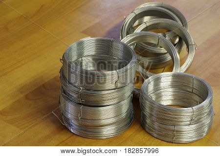 Wire rolls new objects group homework equipment