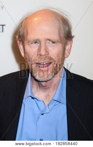 NEW YORK- APRIL 20: Filmmaker Ron Howard  attends the `Genius` Premiere during Tribeca Film Festival 2017 at BMCC Tribeca PAC on April 20, 2017 in New York City