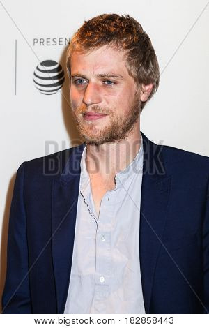 NEW YORK, NY - APRIL 20: Johnny Flynn attends the 'Genius' Premiere during the 2017 Tribeca Film Festival at BMCC Tribeca PAC on April 20, 2017 in New York City.