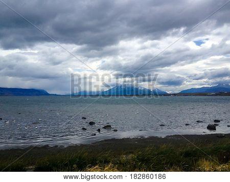 Punto Arenas of patagonia Chile . .