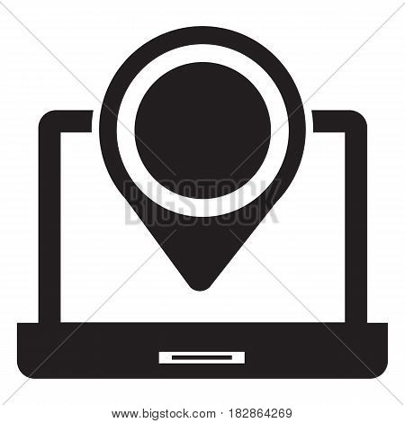 Map With Pointer Icon Direction Famous Place Computer Icon Map