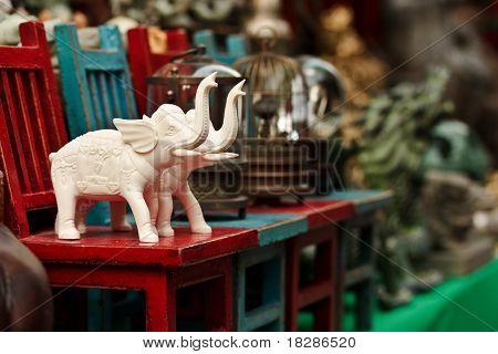 Small Elephant Figurines