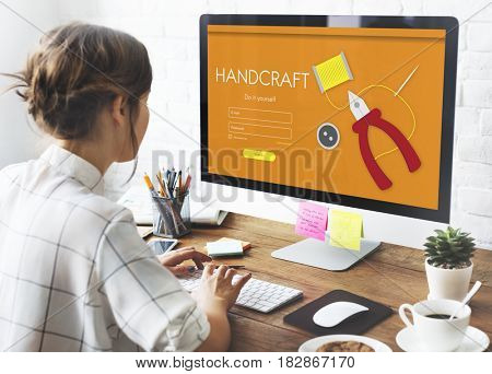 Craft DIY Handmade Activity Skills Concept