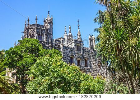 Palace Quinta da Regaleira, Sintram Portugal. Palace with symbols related to alchemy Masonry the Knights Templar and the Rosicrucians