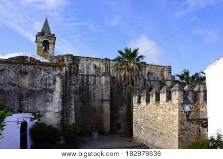 Castle at Vejer de la Frontera Spain.