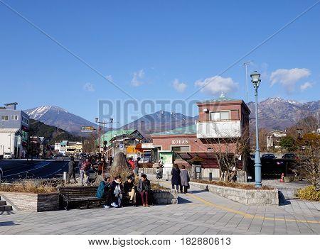 Cityscape In Nikko, Japan