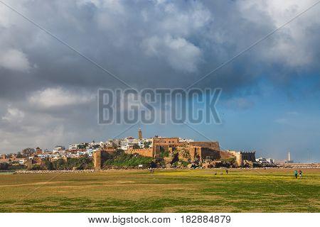 Morning View Of Medina Rabat, Morocco