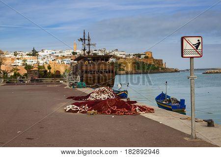 View Of Medina Rabat, Morocco