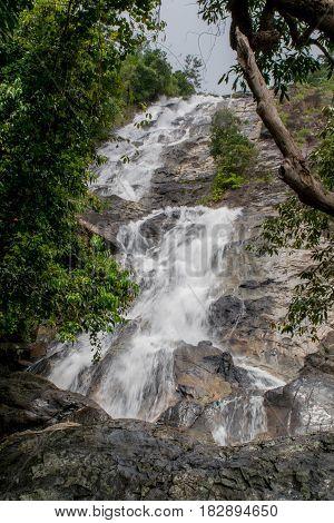 Ton Nga Chang Waterfall Songkhla Southern Thailand.