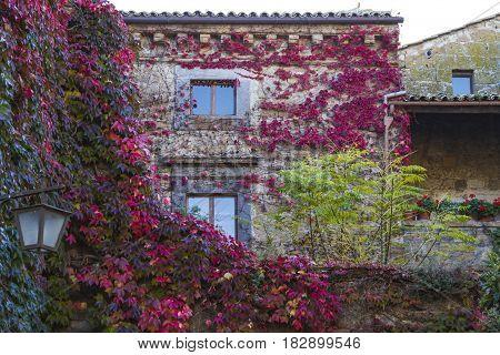 Civita od Bagnoregio ancient medieval village in the province of Viterbo in Italy