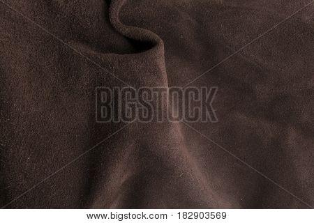 Soft Brown Chamois Texture