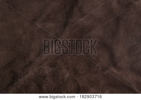 Soft Brown Chamois Texture