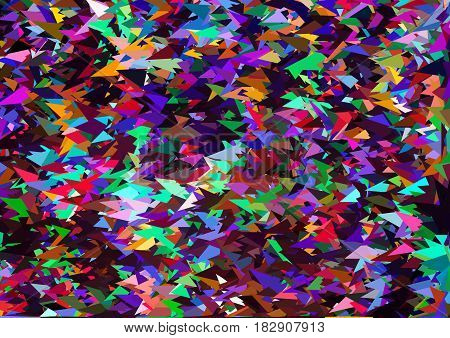 Multicolor Geometric Rumpled Triangular Low Poly Origami Style Gradient Illustration Graphic Backgro