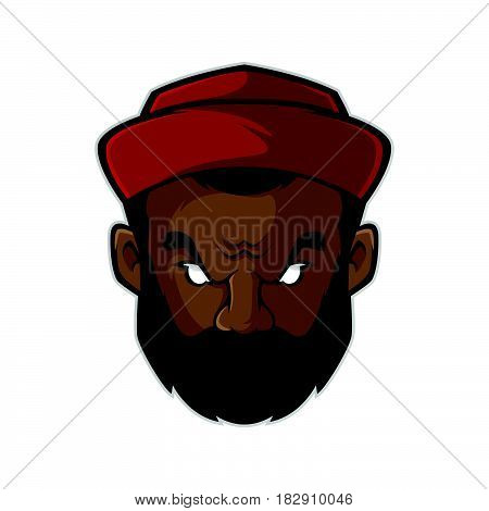 Hip Hop Head Logo Template