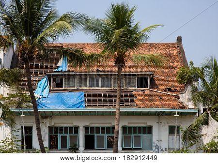 Dutch colonial building in Jakarta