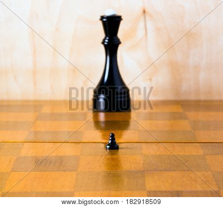 In chess as in life if you strive to achieve that goal and become meaningful