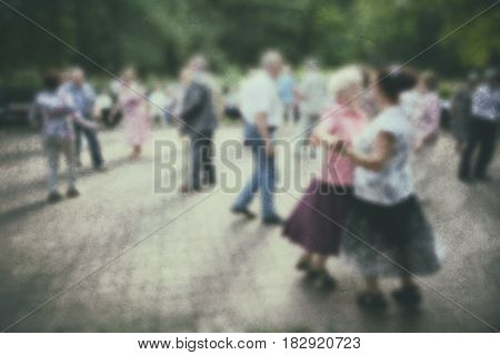 Dance Older Person