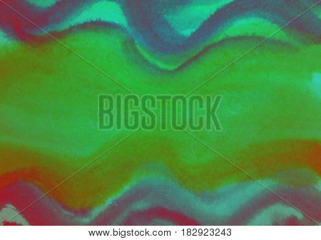 Watercolor brush strokes abstract colorful background image