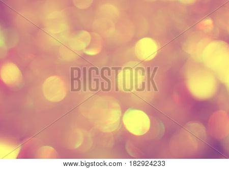 Shiny glowing bokeh beautiful abstract background design