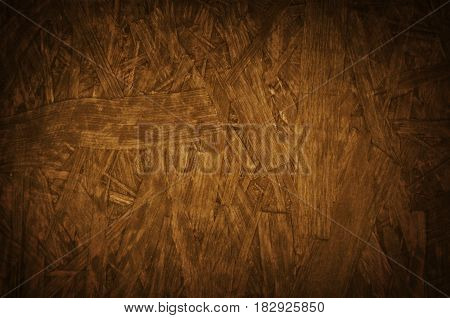 Pressed wood particle boar chipboard texture grunge background