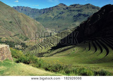 Pisac i the Urubamba Valley near Cusco, Peru