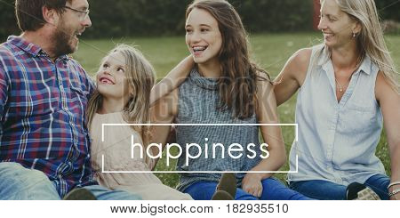 Family Love Moments Happiness Concept
