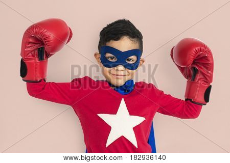Little Boy Super Hero Costume
