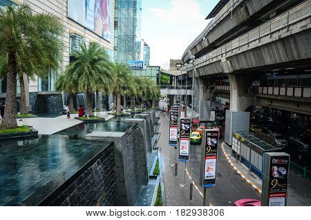 Street At Downtown In Bangkok, Thailand