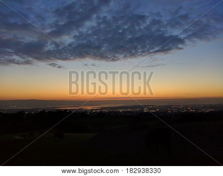 View of the San Francisco Bay Area