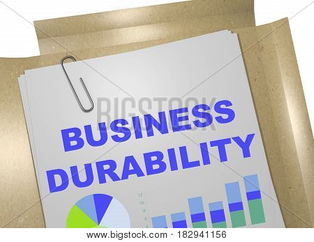 Business Durability Concept