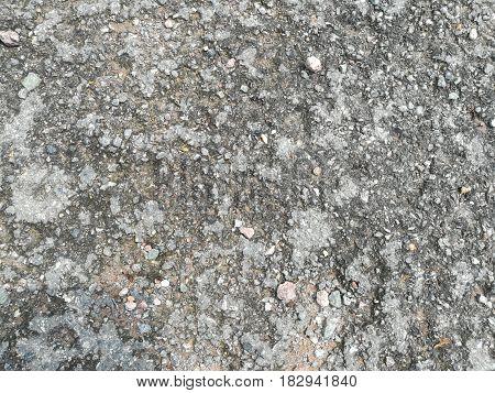 Close up picture of rough concrete floor texture.