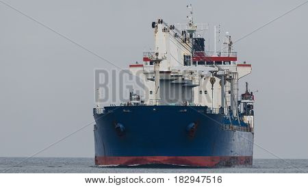 BULK CARRIER - Marchant Vessel is on the sea
