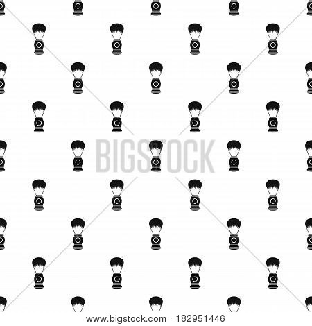 Shaving brush pattern seamless in simple style vector illustration