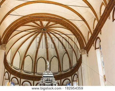 Dome Of Chiesa Di Santa Corona In Vicenza