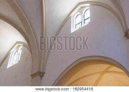 Indoor Of Chiesa Di Santa Corona In Vicenza
