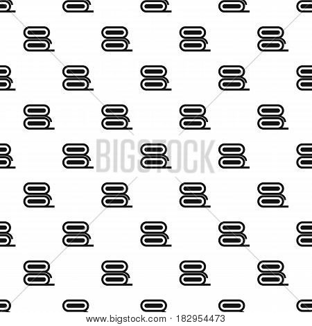 Fabric pattern seamless in simple style vector illustration
