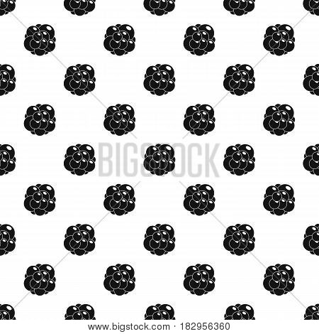 Ovary pattern seamless in simple style vector illustration