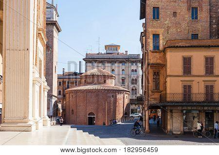 Rotonda Di San Lorenzo On Piazza In Mantua