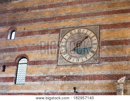 Wall Decoration Church Of The Eremitani In Padua