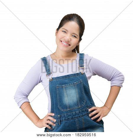 Asian Mechanic Woman