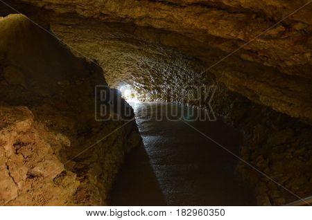 Mammoth Cave On The Crimean Peninsula
