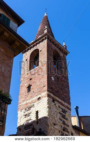 Tower Of Waldensian Evangelical Church Of Verona