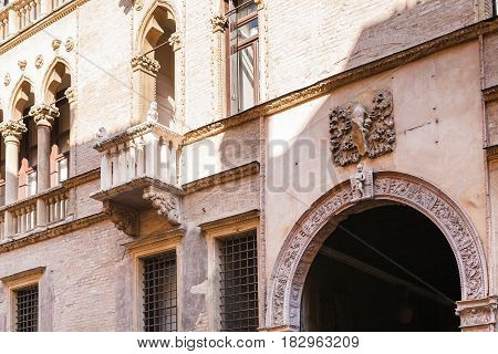 Facade Of Palazzo Ca' D'oro On Corso Palladio